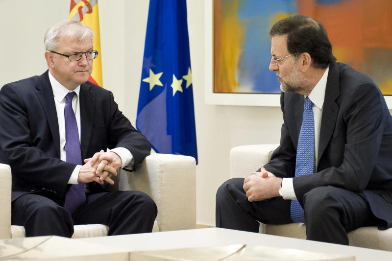 EU official: Spain has not asked for bailout