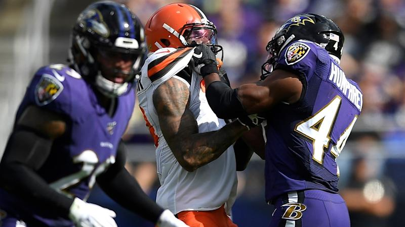 Jackson sets TD mark as Ravens get No. 1 seed