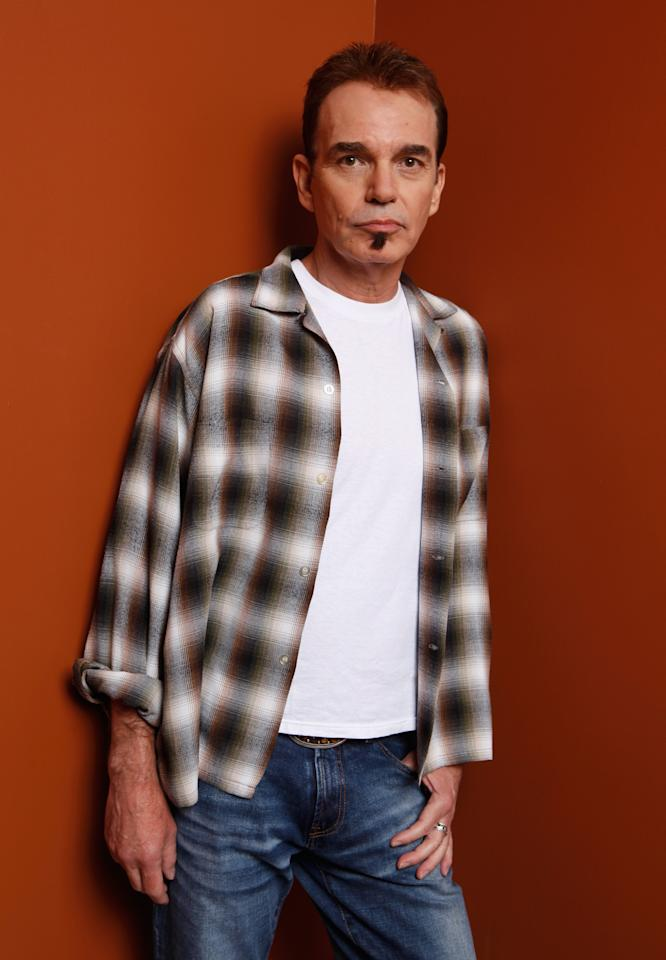 "TORONTO, ON - SEPTEMBER 13:  Writer/director Billy Bob Thornton of ""Jayne Mansfield's Car"" poses at the Guess Portrait Studio during 2012 Toronto International Film Festival on September 13, 2012 in Toronto, Canada.  (Photo by Matt Carr/Getty Images)"