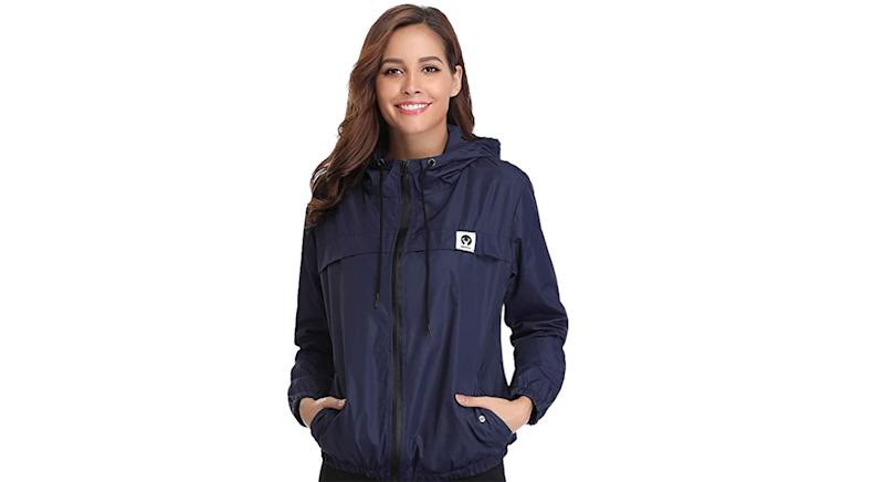 Abollria Women Rain Jacket Waterproof