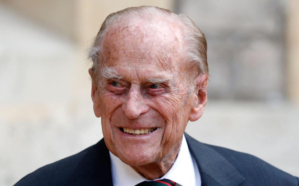 Prince Philip, the Duke of Edinburgh, has been transferred to a second hospital - Adrian Dennis/AFP