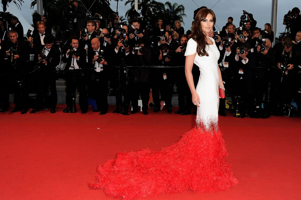 "CANNES, FRANCE - MAY 20:  Singer Cheryl Cole attend the ""Amour"" Premiere during the 65th Annual Cannes Film Festival at Palais des Festivals on May 20, 2012 in Cannes, France.  (Photo by Pascal Le Segretain/Getty Images)"
