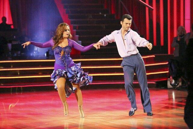 Leah Remini on DWTS