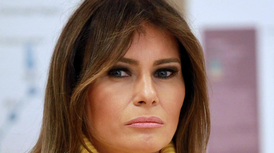 First lady Melania Trump hasn't attended a public event for nearly a month,