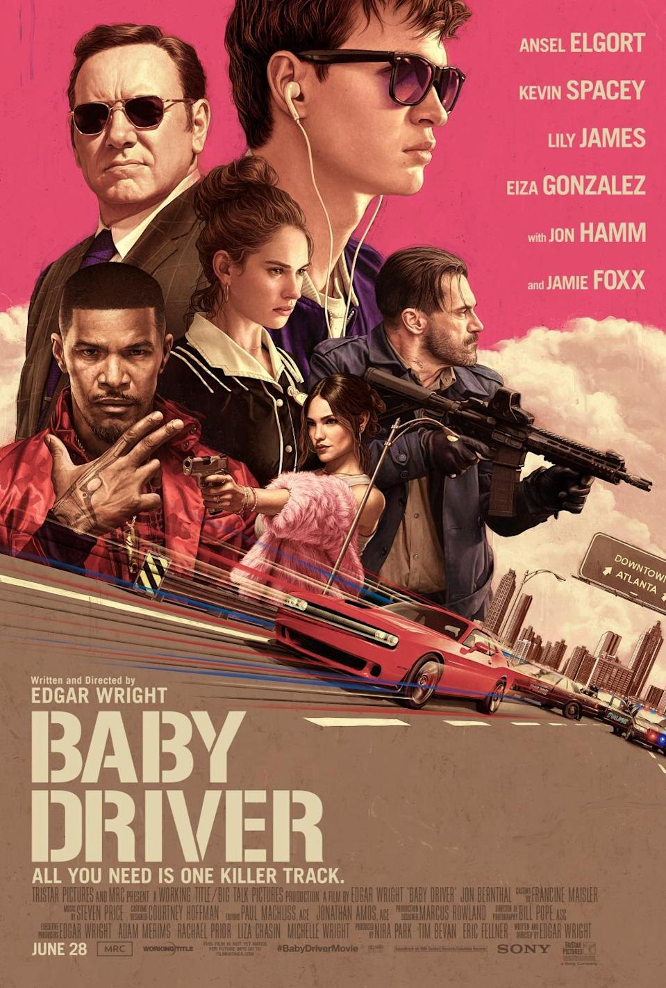 <p>Baby Driver poster (Sony Pictures) </p>