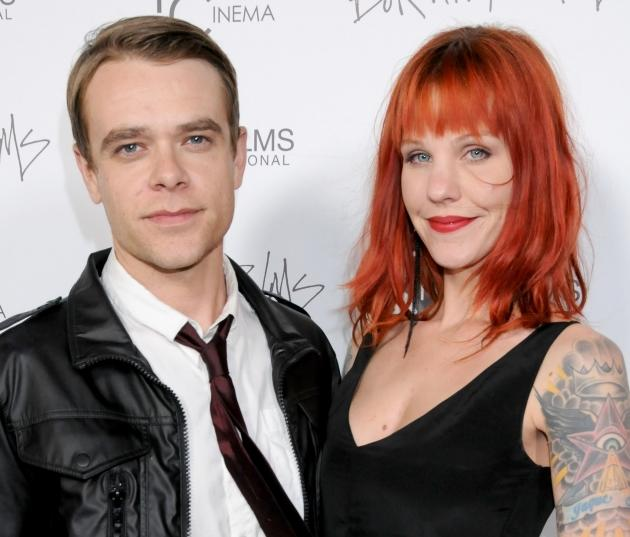Nick Stahl and Rose Stahl arrive at the Los Angeles Premiere of 'Burning Palms' at the Arclight Hollyood Theatre in Hollywood on January 12, 2011 -- Getty Premium