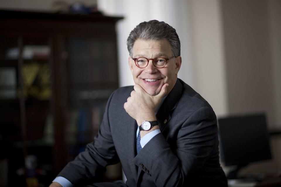 <p>Actor and writer Al Franken started his career in the entertainment industry on <em>Saturday Night Live</em> in 1975. Almost 20 years and five Emmy's later, he decided to transition into politics. The staunch Democrat was elected as a Senator of Minnesota in 2009 and served until 2018.</p>