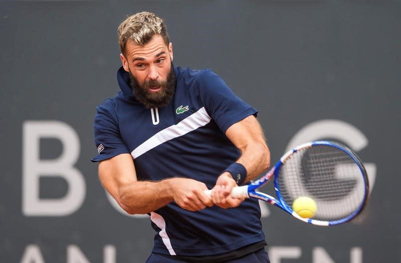 Paire says he tested positive before playing in Hamburg