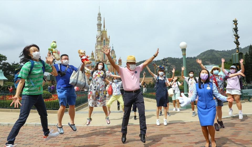 Hong Kong Disneyland reopened on September 25 after a closure of about two months. Photo: Dickson Lee