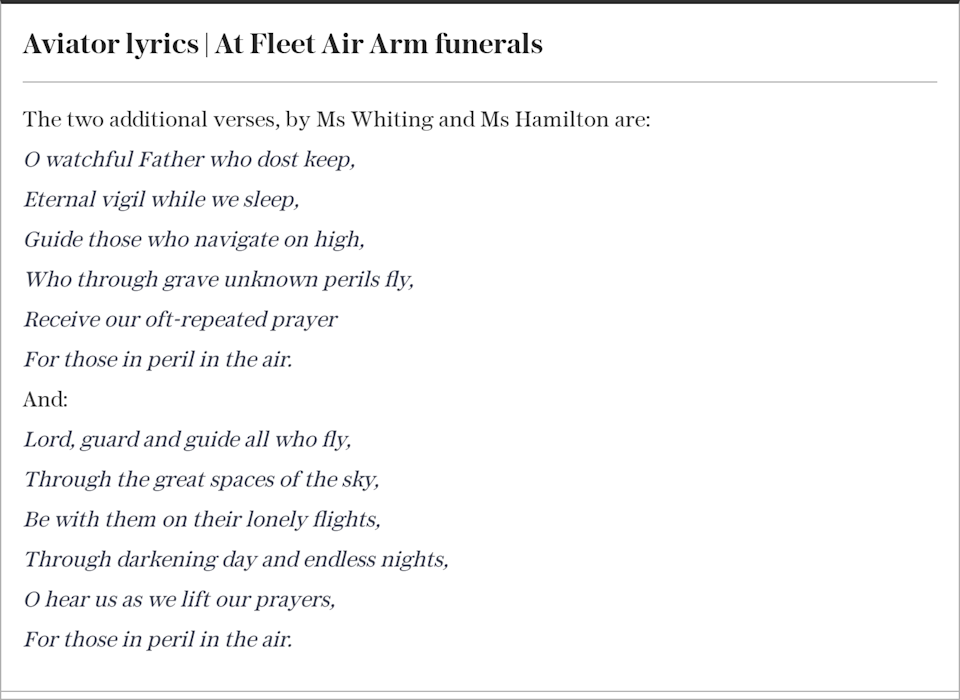 Prince Philip funeral new hymn