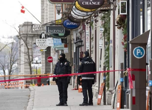 Man charged with 2 counts of 1st-degree murder after Halloween sword attack in Quebec City