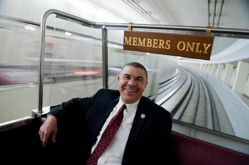 Rep. Lacy Clay (D-Mo.), who has represented the St. Louis area since 2001, paid the law office of his sister, Michelle Clay, $180,000 in this election cycle. (Photo: Tom Williams/Getty Images)