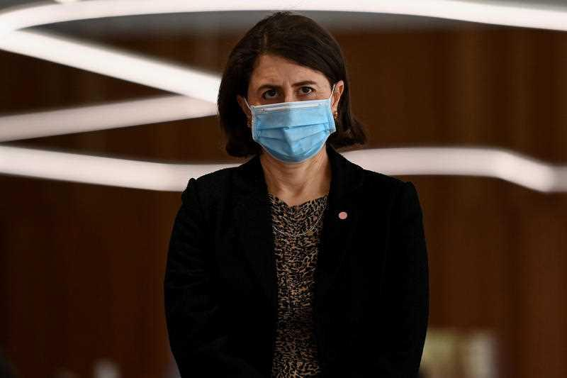 Premier Gladys Berejiklian said the number of people doing the wrong thing needed to drastically reduce. Source: Getty