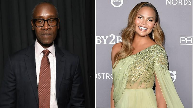 'Crash' Star Don Cheadle Reacts to Chrissy Teigen Calling the Movie 'Bad'