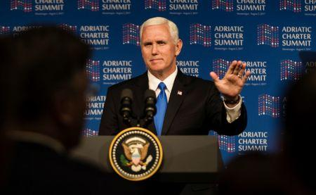 Pence praises Montenegro for standing up to Russian Federation
