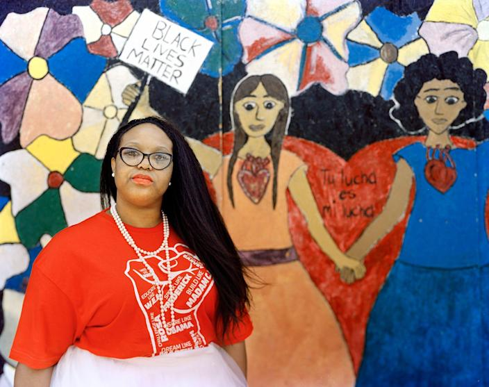 Patonia Rhule, a current EEOC investigator in the Dallas district office, said she was recently suspended for openly supporting Black Lives Matter, among other things.
