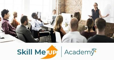 The Skill Me UP Academy's versatile curriculum combines virtual classrooms, group projects, and hands-on exercises to provide an interactive learning experience.