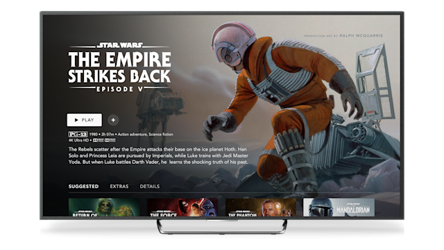 May the Fourth will see Disney+ honouring concept art from over four decades of the beloved saga. (Disney+)