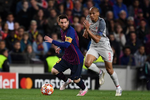 Barcelona vs. Liverpool was phenomenal theater in the Champions League semifinals, but would the novelty of such mega-clashes wear off quickly in a super league? (Getty)