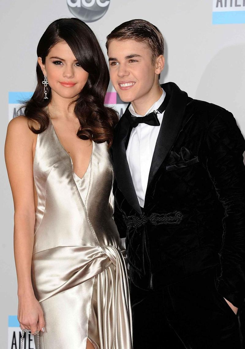 Selena is reportedly back with ex-boyfriend Justin Bieber. The pair are pictured here in 2011. Source: Getty