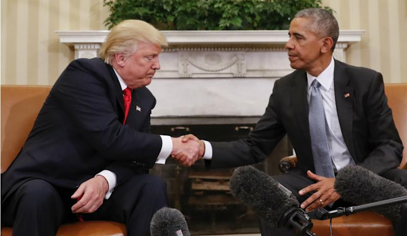 Trump Twitter reaction to Obama is another accusation