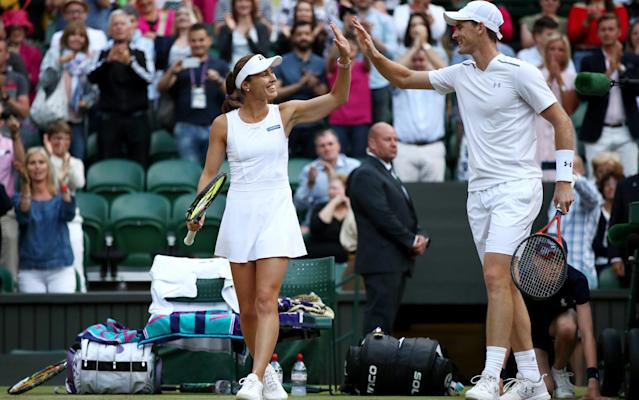 <span>Martina Hingis and Jamie Murray didn't drop a set throughout the fortnight</span>