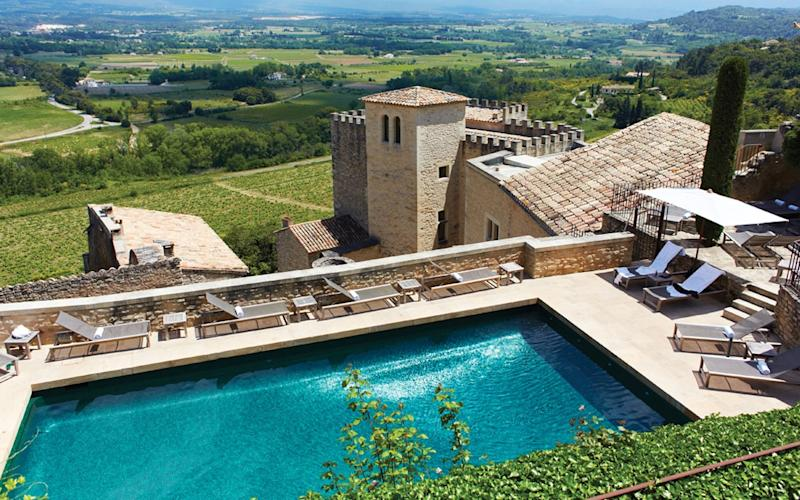 The family behind the beloved Naf Naf fashion brand is putting its stamp on French hotels with Crillon Le Brave in Provence