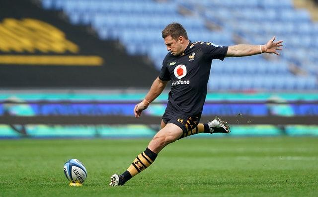 Wasps centre Jimmy Gopperth landed nine kicks out of 11 for a 22-point haul