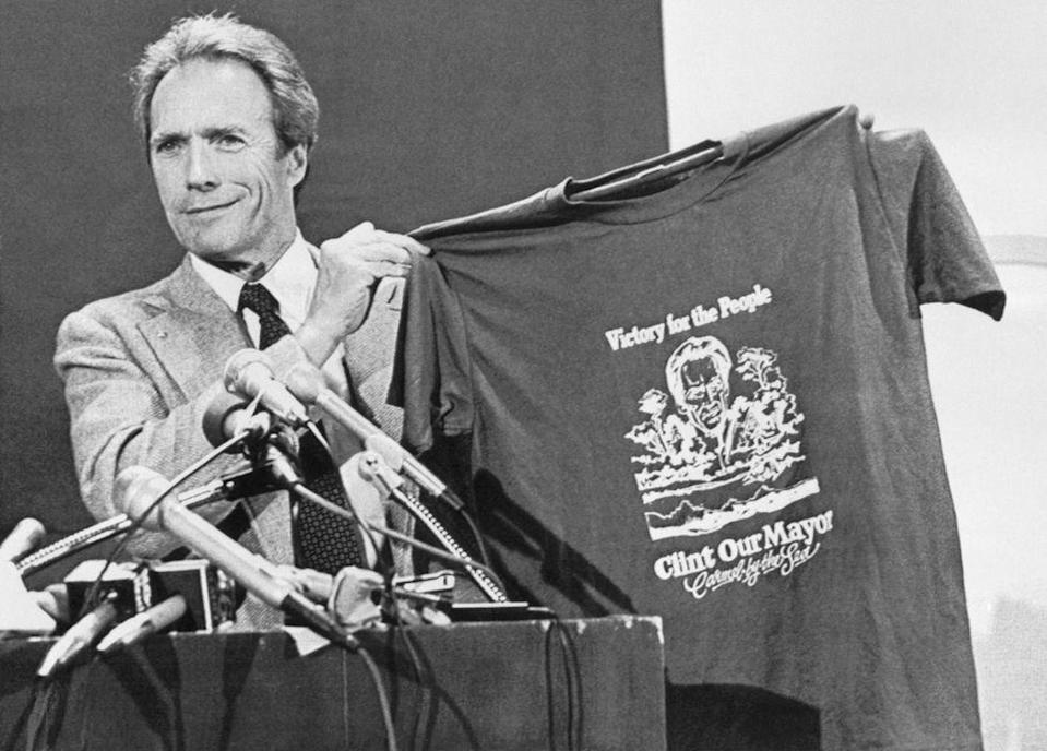 <p>The actor was elected Mayor of his small California town, Carmel by the Sea, in 1986.</p>