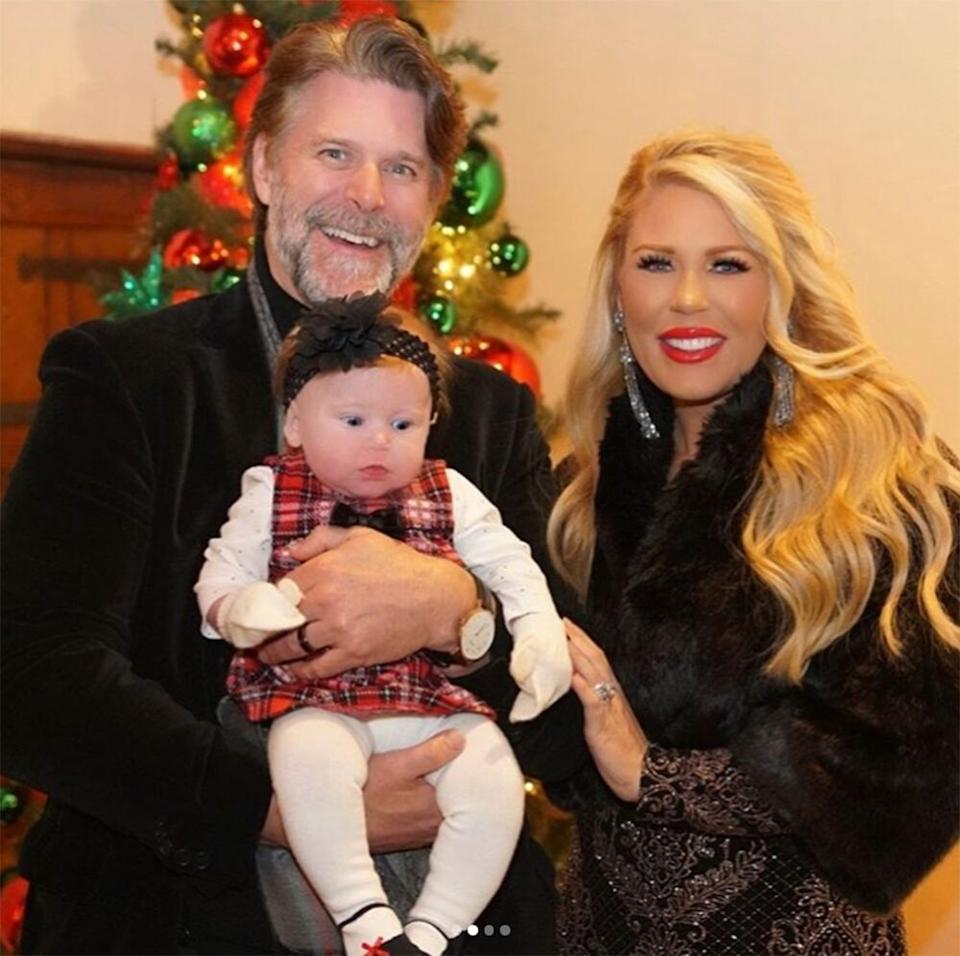 Slade Smiley and Gretchen Rossi with daughter Skylar Gray   Gretchen Rossi/Instagram