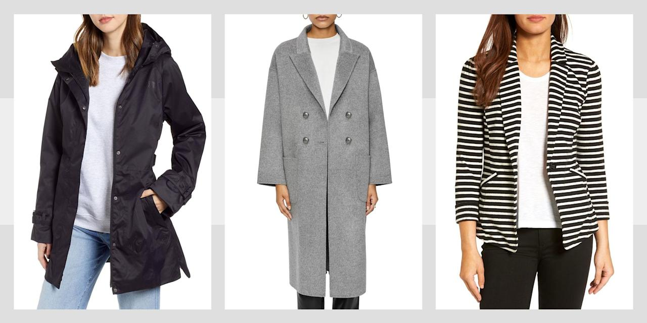<p>Whether you're in the market for a belted-at-the-waist trench coat or a sherpa-lined denim bomber, we've got you covered. Here are our stylish picks for the fall season.</p>