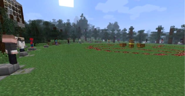 Minecraft Hunger Games exists, and it's just as amazing as you're