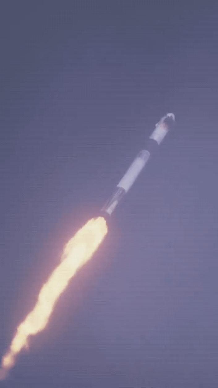 SpaceX   Crew Dragon separating from Falcon 9 during today's test, which verified the spacecraft's a.2020 01 19 15_07_35