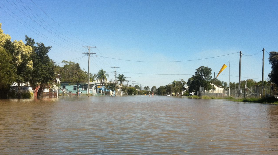 The floods are expected to reach as high as those in 1954. Photo: 7 News