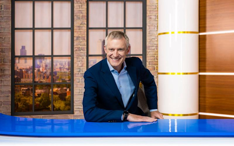 Jeremy Vine took over from Matthew Wright on Channel 5's morning slot - PA