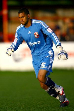 Wesley Foderingham, Swindon Town goalkeeper