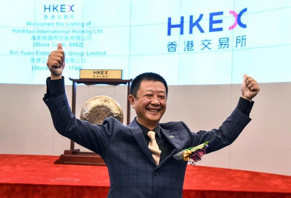 Chairman Zhang Yong and his spouse Shu Ping, co-founders, control 68.2 per cent of the hotpot chain.