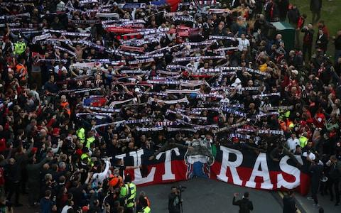 psg fans - Credit: GETTY IMAGES