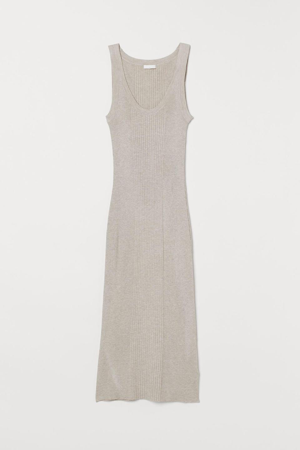 <p>This <span>H&amp;M Ribbed Dress</span> ($30) is so flattering, you'll take every opportunity to wear it.</p>