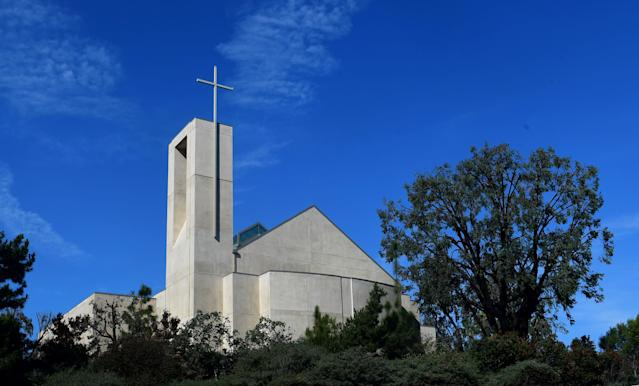 Iglesia Our Lady Queen of Angels catholic church in Newport Beach (Getty Images)