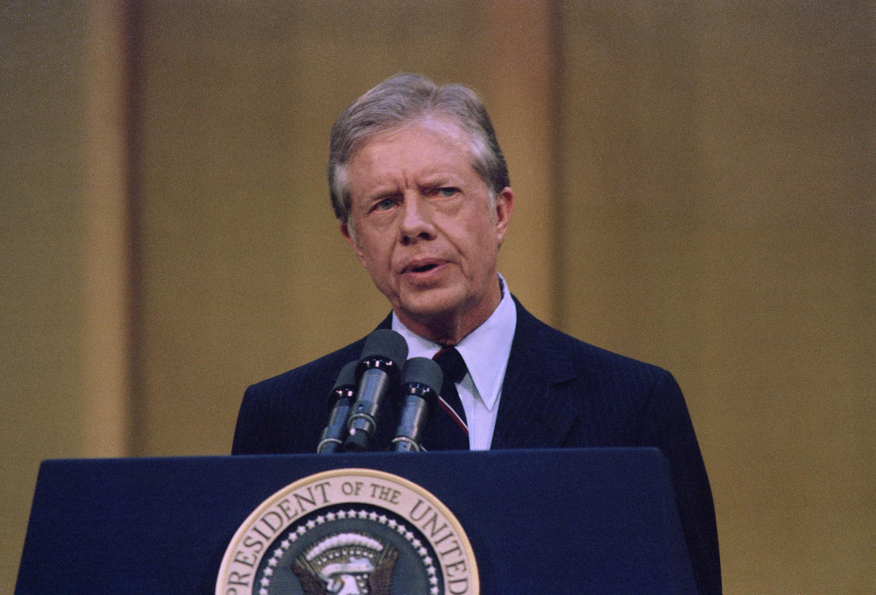 The last time national regulation of hospital prices got serious consideration was during the late 1970s, when President Jimmy Carter proposed it. That effort died in the face of industry opposition. (ASSOCIATED PRESS)