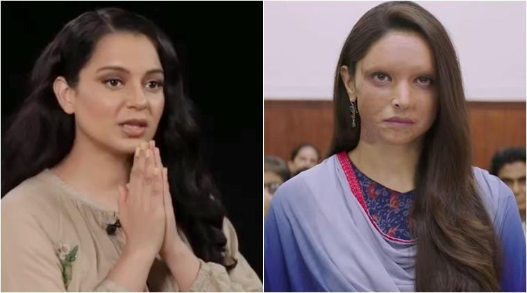 kangana ranaut chhapaak video