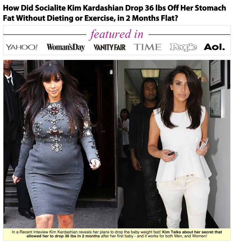 Hoax Alert: Don't Fall For These Celebrity Diet Pill Scams