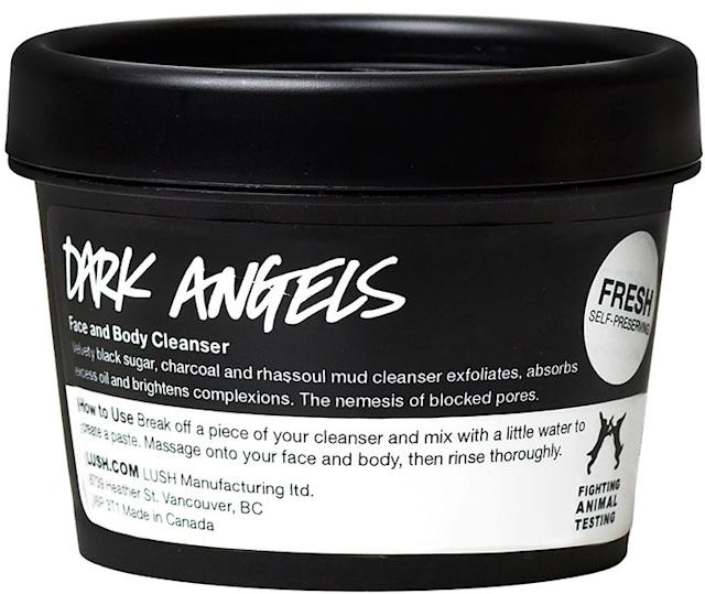 Lush Dark Angels Face and Body Cleanser