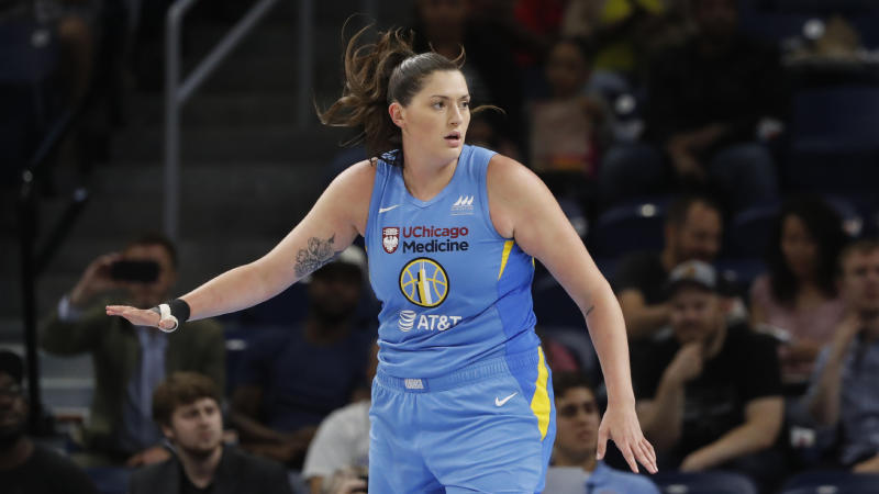 Chicago Sky center Stefanie Dolson revealed that her entire family had tested positive for the coronavirus.