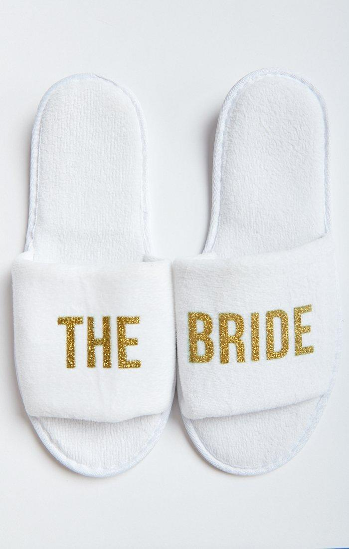 Show Me Your Mumu The Bride Slippers