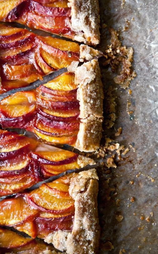 Tequila Peach Pie Just Like Grandma (Didn't) Used to Make