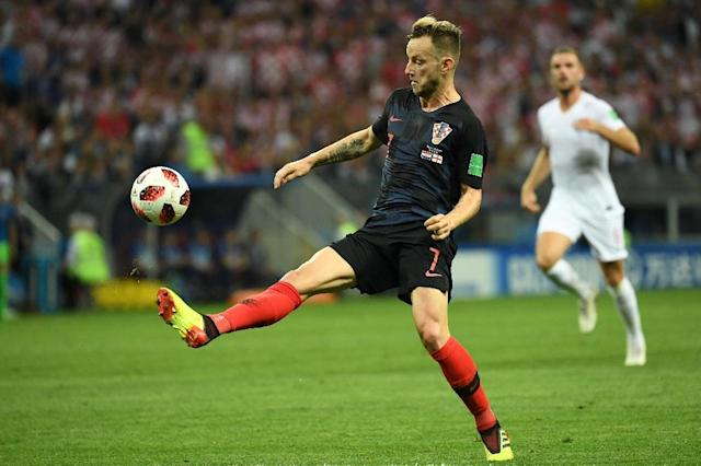 Ivan Rakitic was born in Switzerland but chose to play for Croatia, the country of his parents (AFP Photo/Kirill KUDRYAVTSEV)