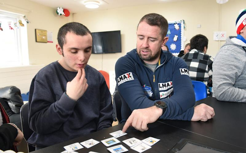 Shane Williams at the Autism Life Centre in South Wales - Jay Williams