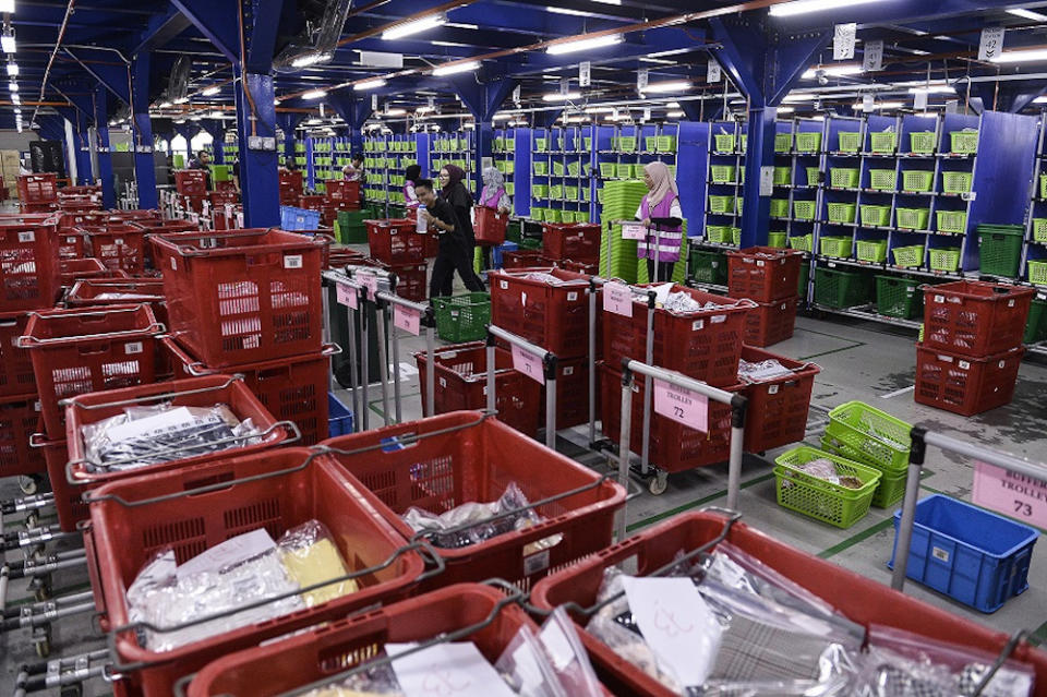 Last year, Zalora processed 90,000 items during its 11.11 sale. — Picture by Miera Zulyana